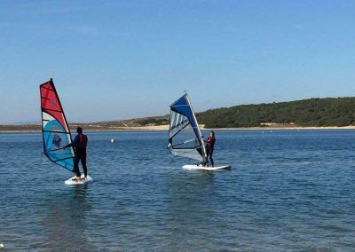 Windsurf at Albufeira Lagoon