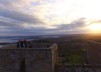 End-of-the-day-at-Monsaraz-Castle