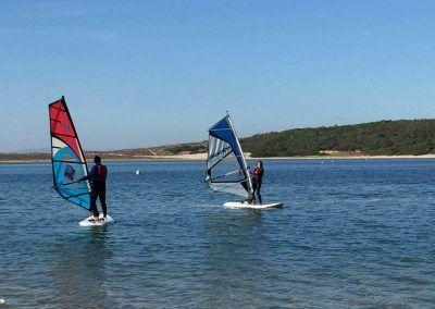 Windsurf at Albufeira Lagoon